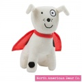 Todd Parr by North American Bear White/Black Dog (6717)