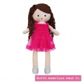 Amy Coe by North American Bear Cotton & Jersey Doll Amy Brunette (6691) - FREE SHIPPING!