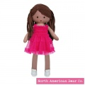 Amy Coe by North American Bear Cotton & Jersey Doll Lola Tan (6693) - FREE SHIPPING!