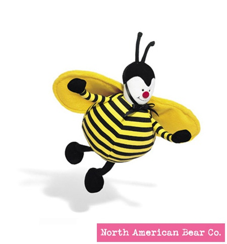 Baby Bed Bugs� Bee Chime by North American Bear Co. (1733)