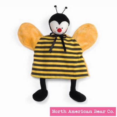 Baby Bed Bugs� Puppet Cozy Bee by North American Bear Co. (4213)