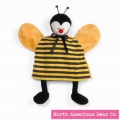 Baby Bed Bugs Puppet Cozy Bee by North American Bear Co. (4213)