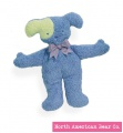 Blue Dog Pastel Pancake Rattles by North American Bear Co. (8239-BD)