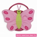 Goody Bag Butterfly Cotton by North American Bear Co. (3992)