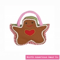 Goody Bag Holiday Gingerbread by North American Bear Co. (6118)