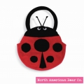 Goody Bag Ladybug by North American Bear Co. (2172)