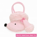Goody Bag Pink Poodle/Side by North American Bear Co. (2122)