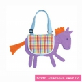 Goody Bag Pony Messenger Bag by North American Bear Co. (6102)