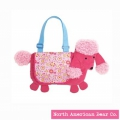 Goody Bag Poodle Messenger Bag by North American Bear Co. (6101)