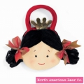 Goody Bag Princess Red by North American Bear Co. (2376)