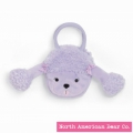 Goody Bag Purple Poodle Face by North American Bear Co. (3781)