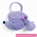 Goody Bag Purple Poodle/Side by North American Bear Co. (2678)
