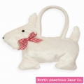 Goody Bag White Scottie by North American Bear Co. (2123)