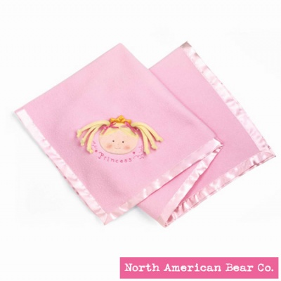 Little Princess� Blanket Blonde by North American Bear Co. (3881)