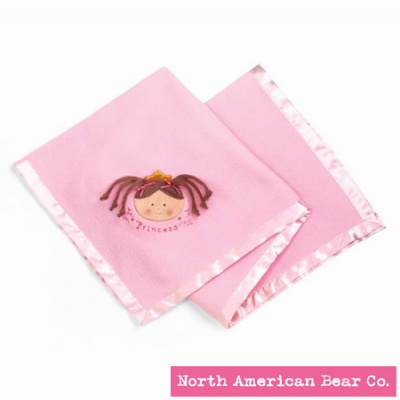 Little Princess� Blanket Brunette by North American Bear Co. (3882)