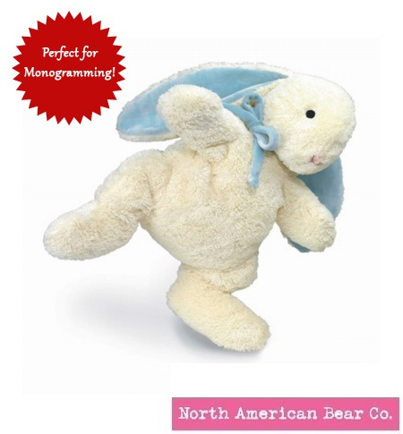 Loppy Bunny Blue Large by North American Bear Co. (3113)
