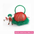 Pixie Purse Green by North American Bear Co. (3098)