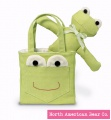 Pocket Pal Goody Bag Green by North American Bear Co. (3821)