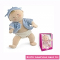 Rosy Cheeks Baby Blonde Boy in Gift Box by North American Bear Co. (6120) - FREE SHIPPING!