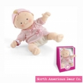 Rosy Cheeks Baby Blonde Girl in Gift Box by North American Bear Co. (6119)