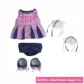 Rosy Cheeks Big Sister Cheerleading Outfit Set by North American Bear Co. (6051)