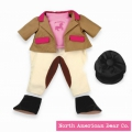 Rosy Cheeks Big Sister Equestrian Outfit Set by North American Bear Co. (3832)