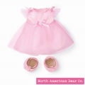 Rosy Cheeks Big Sister Party Dress Set by North American Bear Co. (3853)
