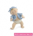 Rosy Cheeks Boy Blond Doll by North American Bear Co. (2858) - FREE SHIPPING!