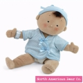 Rosy Cheeks Boy/Tan by North American Bear Co. (2859) - FREE SHIPPING!