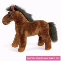 Rosy Cheeks Chestnut Pony by North American Bear Co. (2465) - FREE SHIPPING!