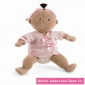 Rosy Cheeks Girl/Tan by North American Bear Co. (2856) - FREE SHIPPING!