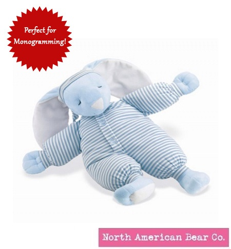 SleepyheadBunny Large Blue by North American Bear Co. (1857)