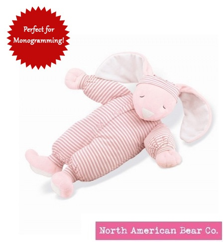 Sleepyhead Bunny Large Pink by North American Bear Co. (1856)