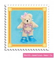 Muffy Bear Teenie Bikini Charm by North American Bear Co. (5908)