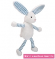 Baby Long Legs Blue Bunny Squeaker by North American Bear Co. (6264)