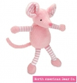 Baby Long Legs Mouse Squeaker by North American Bear Co. (6267)