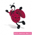 Baby Bed Bugs Ladybug Chime by North American Bear Co. (1834)