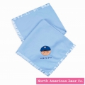Babyville Slugger Blanket by North American Bear Co. (3953) - FREE SHIPPING!