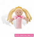 Little Princess Blonde Rattle by North American Bear Co. (8311-B)