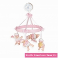 Sleepyhead Baby Mobile Pink by North American Bear Co. (2942) - FREE SHIPPING!